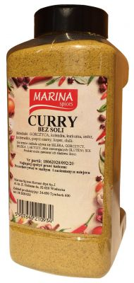 Curry bez soli 1000 g PET